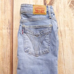 """Levi's 721 High Rise Ankle Skinny Jeans 28"""""""